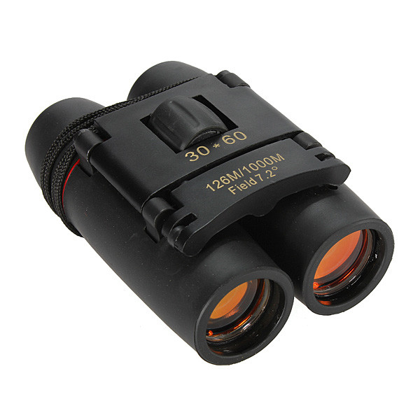 30x60 Day Camping Travel Vision Folding Binoculars Telescope