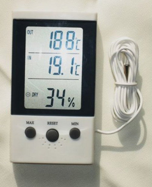 Home Thermometer Hygrometer Memory Function DT-3