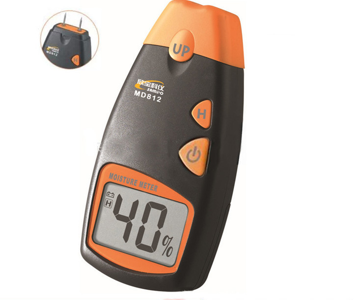 Symbol and unit display 5% to 40% Wood moisture tester MD814