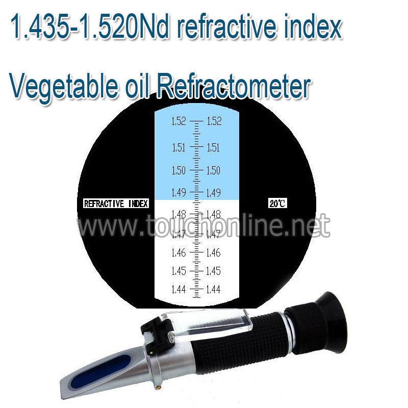 Vegetable oil refractive index refractometer