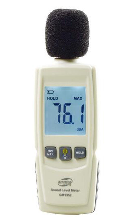 Digital Sound Level Meter Noise Tester 30-130dB TGM1352