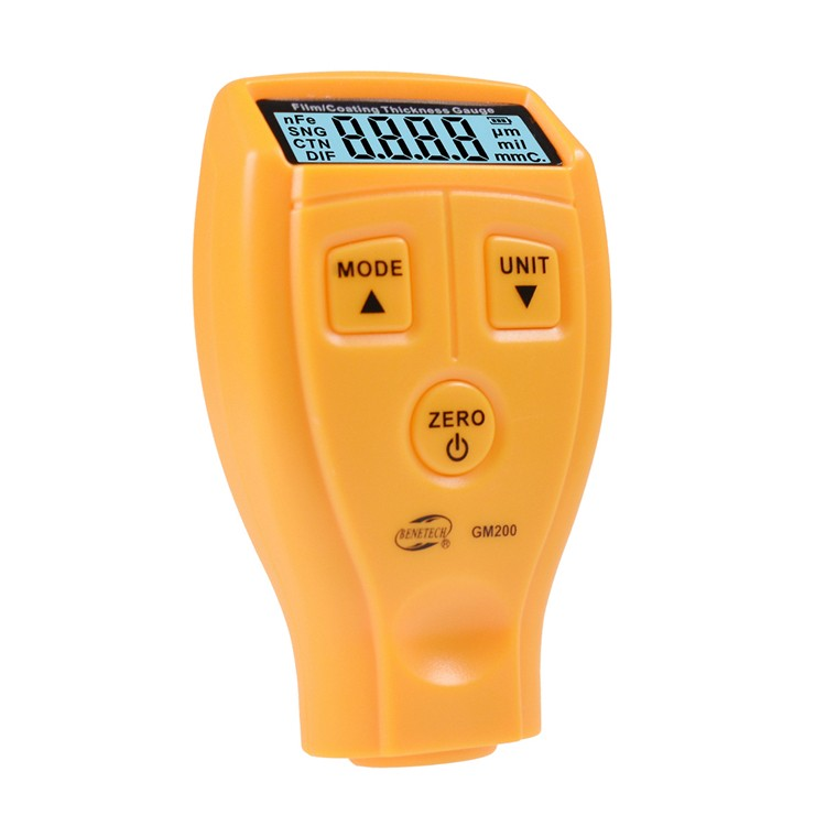 Digital Coating Ultrasonic Paint Iron Thickness Gauge Meter