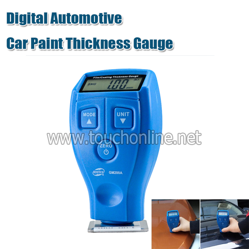 Digital Automotive Car Paint Thickness Gauge
