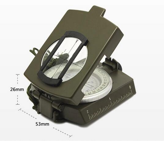 Multifunction Compass Pocket Military Army Geology Compass