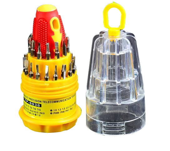 31 in 1 Electronic Precise Manual Screw Driver Tools Set TT-6036