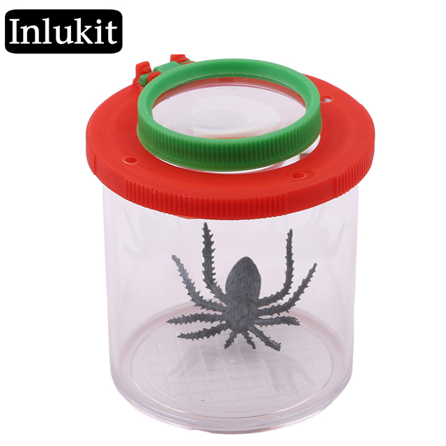 Portable Magnifier Bug Insect Viewer Kids Toy Observation Loupe