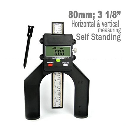 Depth Gauge with Magnetic Feet and Flat back TT-130